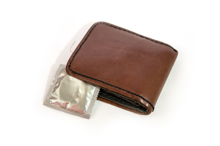 Condoms carry a purse or suitcase  Ready to use photo