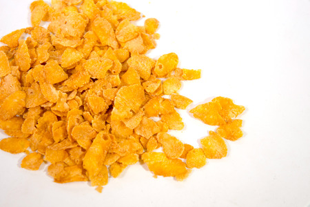 Corn Flake Series that is ready to eat or bring a dessert or food photo