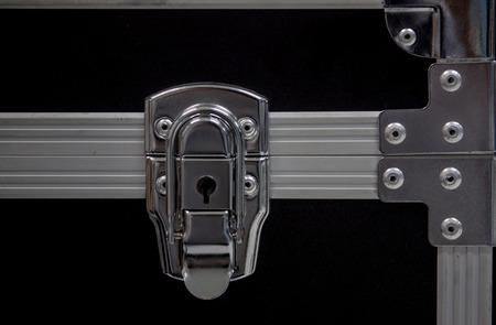 Key hole for the lock   open storage box photo
