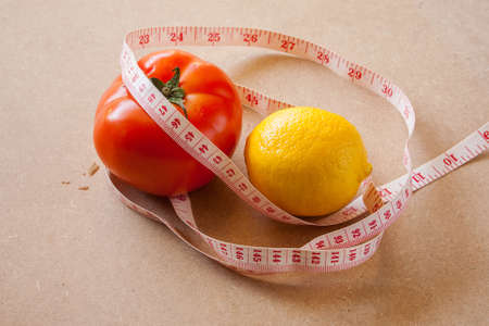 Fruits, vegetables, weight loss, and health care  photo