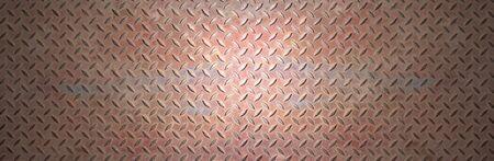 tornillos: De metal de acero oxidado azul bandera placa
