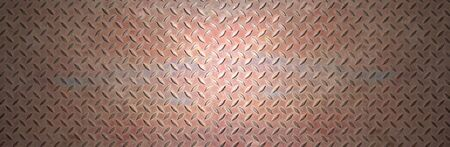 rusty metal: Rusty steel metal plate banner background