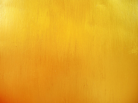 wall light: Gold metallic paint on steel texture background Stock Photo