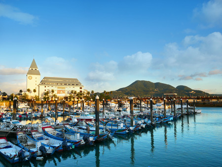 Tamsui Fisherman's Wharf is a one of most famous scenic spot in Tamsui District, New Taipei City, Taiwan.