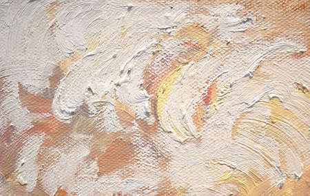 Oil paint texture with brush strokes, fragment of acrylic painting background.