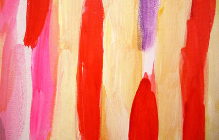 Bright brush strokes abstract art background, brush texture, fragment of acrylic painting on canvas. Standard-Bild