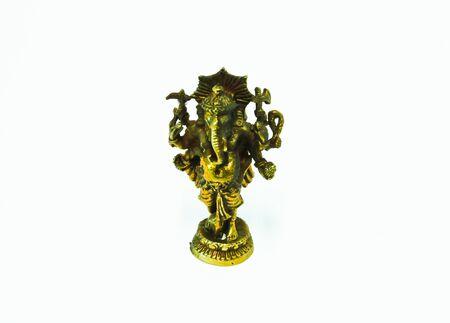 revere: Blass worship ganesh Stock Photo