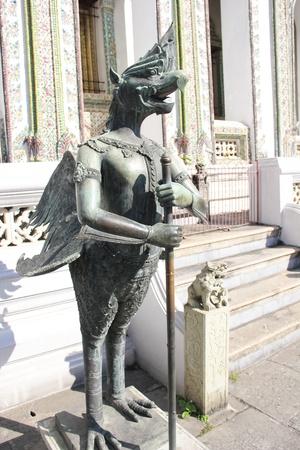 poems: Statue of Garuda at Wat Phra Kaew in Thailand