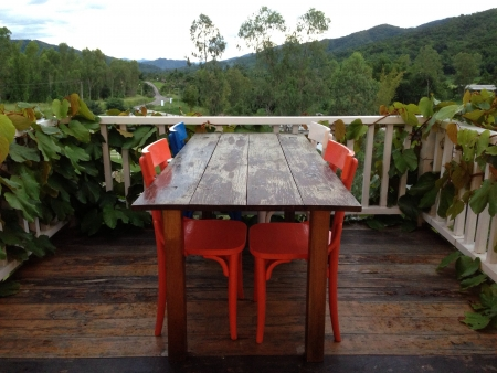 tabel: Dining table in nature