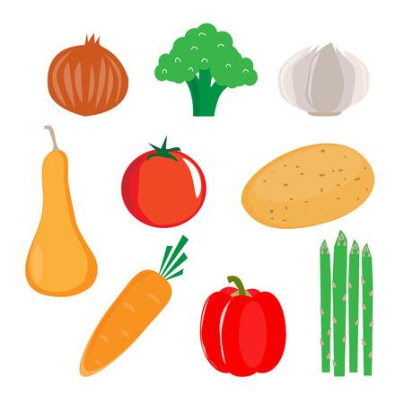 Heart healthy vegetable vector photo