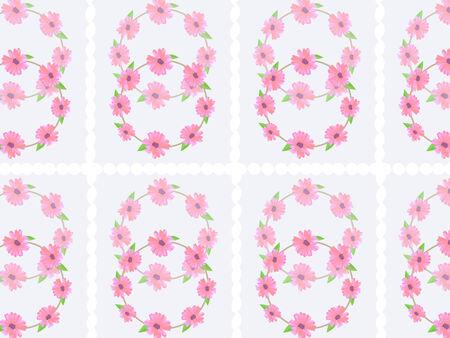 pink flower: Pink flower vector background