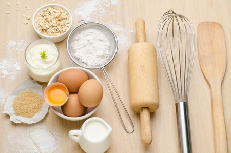 backing: Food ingredient and recipe for backing