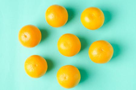 navel: Fresh Navel oranges fruit on green background,healthy food Stock Photo
