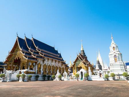 Beautiful temple in Chiangmai,Thailand