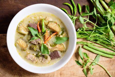 Thai green curry chicken (Kang Keaw Wan Kai), Thai food
