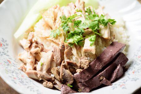 Thai cuisine (Khao Man Kai), Hainanese chicken rice