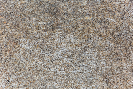 Detailed view of the typical texture of the granite stone, with detail of the various minerals in its composition of the stone