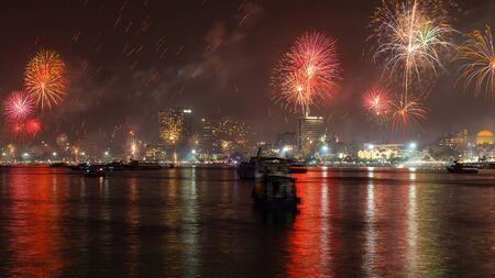 atmospheric: Atmospheric fireworks