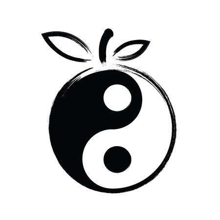 yin et yang: Yin Yang vecteur