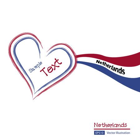 unitary: Vector of Netherlands Flag