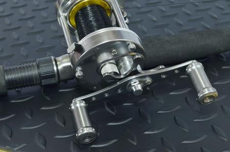 pivot: Reel  keep fishing line equipment used in fishing.