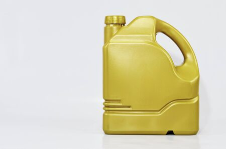 lifespan: Packaging maintain engine oil prolongs lifespan for vehicle. Stock Photo