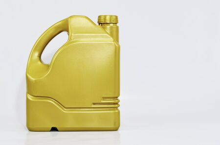 nurture: Packaging maintain engine oil prolongs lifespan for vehicle. Stock Photo