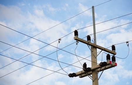 rural areas: Electrical .Poles and power lines. Supply electricity to rural areas.