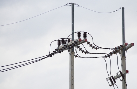 telephone poles: Electrical .Poles and power lines. Supply electricity to rural areas.