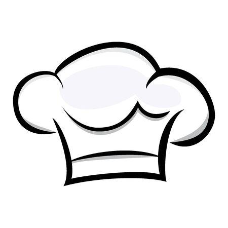 chef hat logo vector design simple Logo