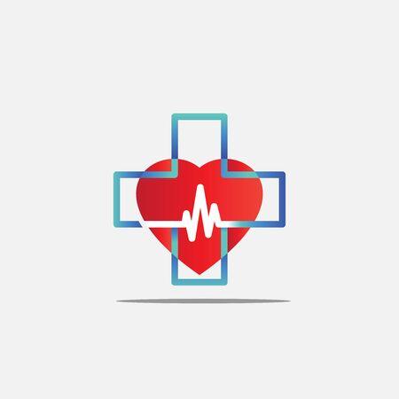 health care logo vector design modern