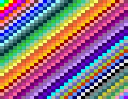chromatique: contexte abstrait avec des images couleur Illustration