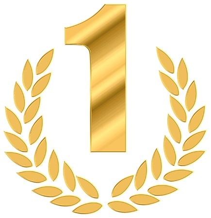 numero uno: numero uno come simbolo di trionfo