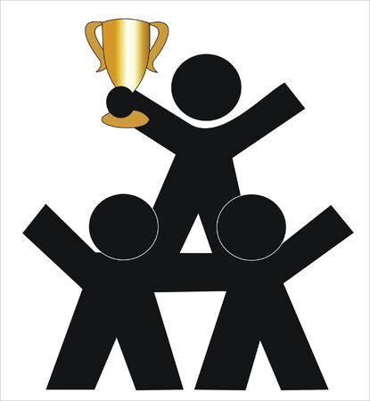 asociacion: éxito gracias a la colaboración de varias personas