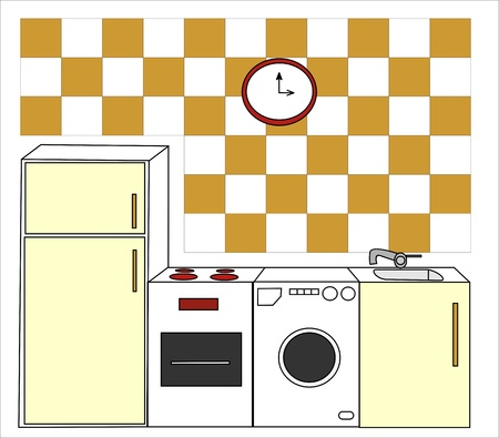 forniture: kitchen forniture drawn