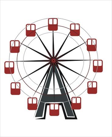 ferriswheel: disegno di un'attrazione ferriswheel