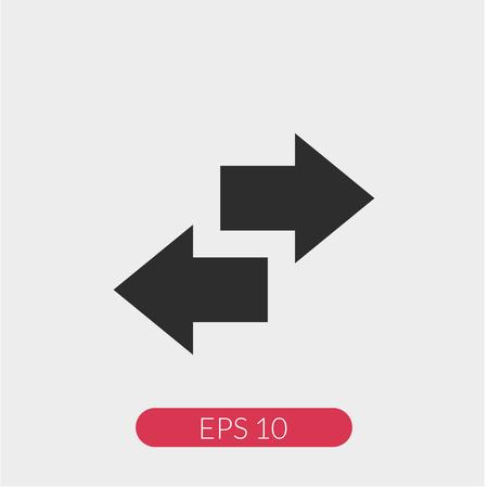 Recyling vector icon Ilustração