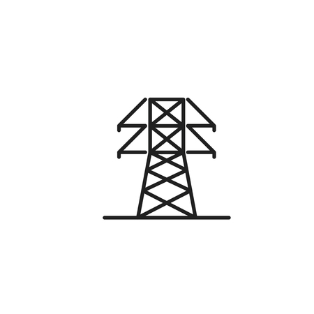 electric tower Vector Ä°con, Eps10  イラスト・ベクター素材