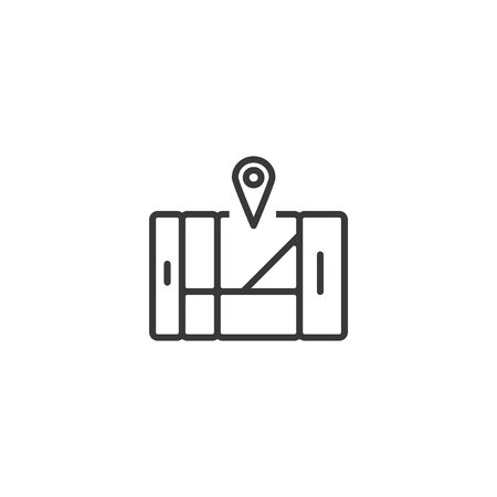 Location Vector Icon, Pixel perfect Eps10