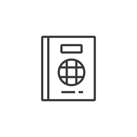 Passport Vector Icon, Pixel perfect Eps10