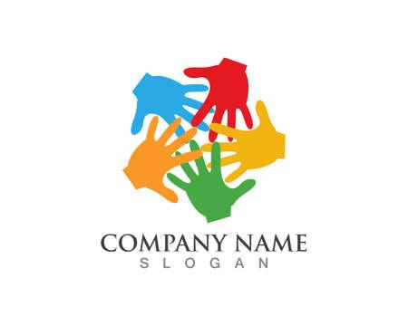 Hands logos symbols