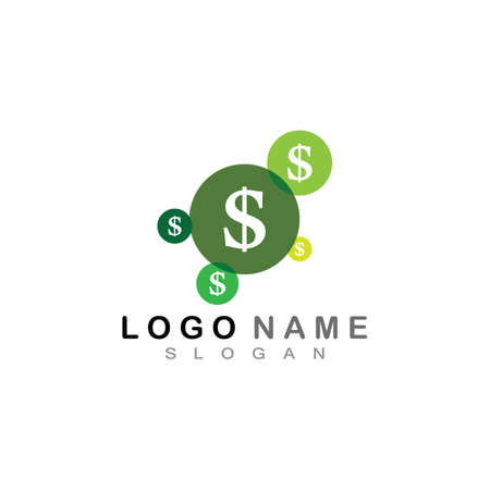 Money logo vector template stock vector illustration