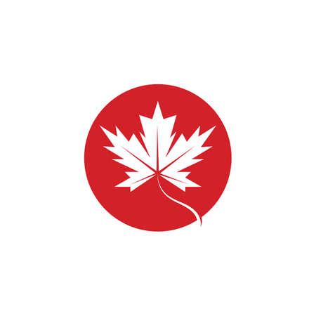 Maple leaf vector icon. Maple leaf vector illustration Ilustração