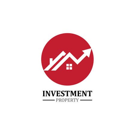 real estate property investment logo. real estate and mortgage logo template
