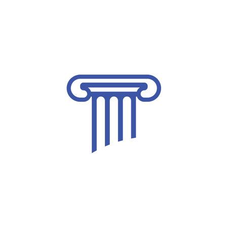 Pillar and symbol vector