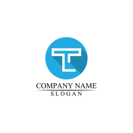 T letter, T logo vector font alphabet design and icon T logo for business and corporate Logo
