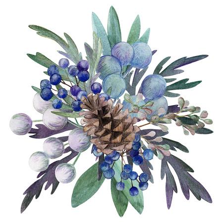 floral watercolor arrangement, hand drawn illustration