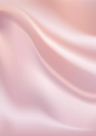 raso: Vector rosa seta sfondo