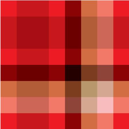Red eamless tartan pattern Stock Vector - 6013890