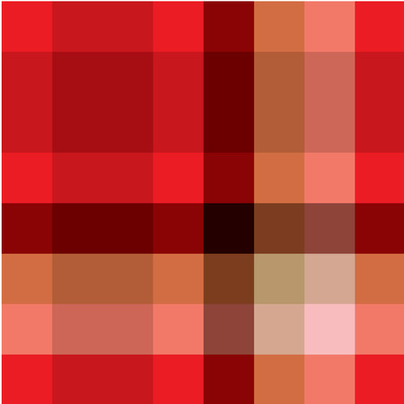 Red eamless tartan pattern Stock Vector - 6013890